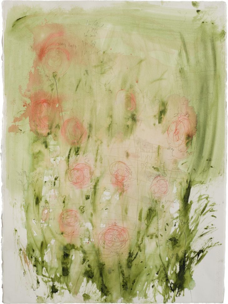 Field<br /> Mixed media on paper<br /> 77X58 cm<br />